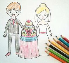 Hochzeitsmalbuch