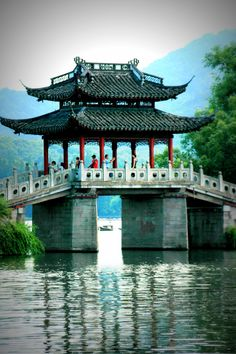West Lake, Hangzhou. West Lake is a freshwater lake in Hangzhou, the capital of Zhejiang province in eastern China. It is divided into five sections by three causeways. There are numerous temples, pagodas, gardens, and artificial islands within the lake.