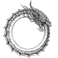 Fenrir Tattoo, Ouroboros Tattoo, Rune Tattoo, Norse Tattoo, Celtic Tattoos, Viking Tattoos, Tattoo Flash Art, Tatoo Art, Body Art Tattoos