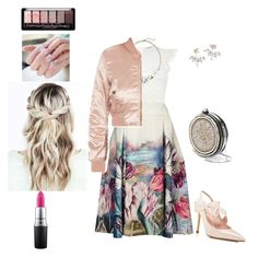 """""""Soft 2017"""" by unpocoboho ❤ liked on Polyvore featuring Oasis, Old Navy, Phase Eight, Alexander McQueen, MAC Cosmetics and Kate Spade"""