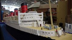 The Queen Mary | by Lego Monster