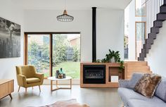 The East Malvern home of the Arendsen family. Photo – Eve Wilson. Production – Lucy Feagins / The Design Files.