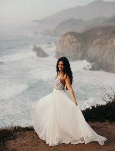 Intimate Big Sur Beach Wedding — Planned in 90 Days! | Green Wedding Shoes | Weddings, Fashion, Lifestyle + Trave
