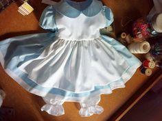 Girls Blue Dress Alice in Wonderland Baby by MYSWEETCHICKAPEA