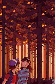 Gravity Falls,Dipper pines,Mabel Pines