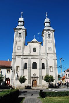 Category:Saints' Peter and Paul church of the Franciscan monastery in Odorheiu Secuiesc St Peter And Paul, Hungary, Romania, Notre Dame, Cathedral, Sf, Landscape, Architecture, Faith