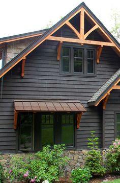 Brick Siding, Clapboard Siding, Stone Siding, Cedar Siding, House Siding Options, Exterior Siding Options, Cottage Exterior, Exterior House Colors, Plants