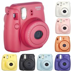 Fujifilm Instax Mini 8 Polaroid Instant Camera (8 Colors) $42.99 (ebay.com)