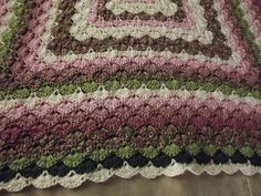 Free pattern – Beautiful Shells Blanket