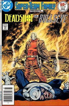 Super-Team Family: The Lost Issues!: Deadshot Vs. Bullseye