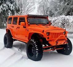 Cars jeep red ideas for 2019 Jeep Wrangler Rubicon, Jeep Wranglers, Orange Jeep Wrangler, Jeep Wrangler Unlimited, Jeep Wrangler Custom, Auto Jeep, Jeep Jk, Jeep Truck, Cars Auto