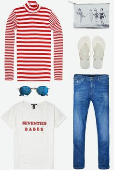 Summer sailors | Mads Norgaard, Maison Scotch, Havaianas | www.eb-vloed.nl