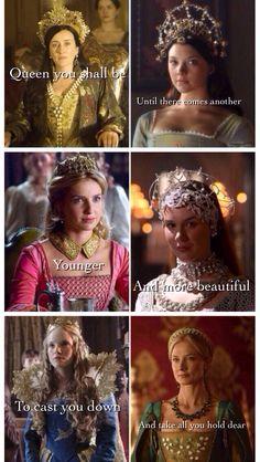 The Tudors Queens, Game of Thrones mash up. Women In History, Asian History, British History, Strange History, History Facts, Anne Boleyn Tudors, The Other Boleyn Girl, Henry Viii, Boyfriend Gifts