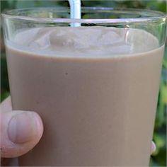 Low-Carb Chocolate Peanut Butter Smoothie - Allrecipes.com