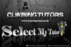 Are you a ‪#‎Climbing‬ tutor? Register with us today for free. ‪#‎tutor‬ ‪#‎climbingtutor‬ ‪#‎privatetutor‬ ‪#‎tutors‬ www.selectmytutor.co.uk