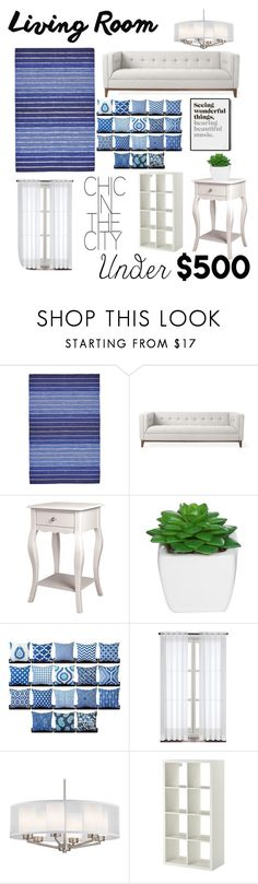"""Navy Grace"" by jessbreiman ❤ liked on Polyvore featuring interior, interiors, interior design, home, home decor, interior decorating, BD Fine, Gus* Modern, Altra and livingroom"