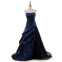 Long Prom Dress/Elegant Guest Dress/Party Dress/ Royal Blue Evening dress /Ball Gown Dress DT100089 on Etsy, $109.99