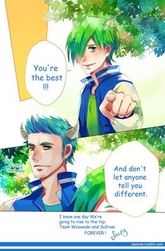 James and Michael - Collab with *makiyan by LillayFran on DeviantArt