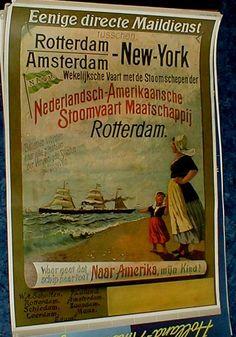 Nederlandsch-Amerikaansche Stoomvaart Maatschappij - Rotterdam