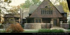 Frank Lloyd Wright Home and Studio Tour 1