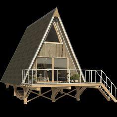 A Frame Cabin, A Frame House, House Styles, Interior, Home Decor, Decoration Home, Indoor, Room Decor, Interiors