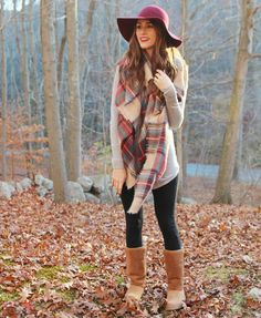 """""""Fall style is all about comfort..."""