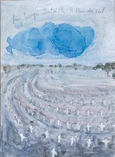 Kiefer's For Georges Bataille: Blue of Noon, 2013.