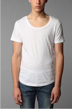 Urban Outfitters Wide Neck Tee