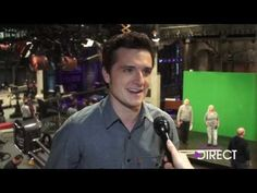 ▶ 'Hunger Games' Star Josh Hutcherson On Hosting SNL - YouTube