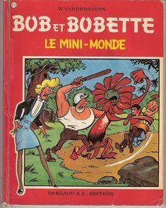 Rare BOB ET BOBETTE n°75 - Le mini-monde - Willy Vandersteen - Dargaud 1967