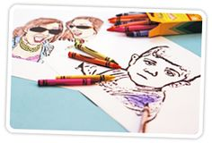 How to Create Coloring Book Pages Using Your Very Own Photos! | Photojojo