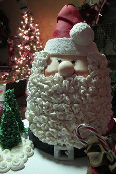 Santa Cake - by Sharon @ CakesDecor.com - cake decorating website