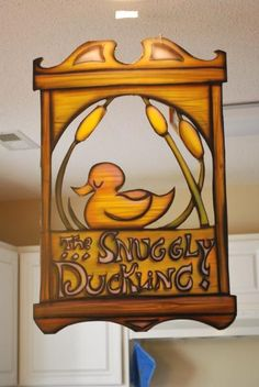 snuggly duckling sign