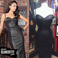 This just may be the sexiest pin up style we have ever stocked! Vintage Style Outfits, Vintage Fashion, Vintage Clothing, Pin Up Style, My Style, Voluptuous Women, Wiggle Dress, Swing Dress, Rockabilly