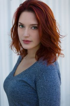 redhead female self pleasure