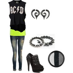 """""""LIL ROCK N ROLL"""" by jessica-t82 on Polyvore"""