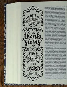 EZRA - 4 Bible journaling printable templates, instant download illustrated christian faith bookmarks, black and white prayer journal bible verse traceable stencils, bible stickers.  ♥ Ezra 3:11 With praise and thanksgiving they sang to the LORD. ♥ Ezra 6:16 Then the people of Israel celebrated the dedication of the house of God with joy. ♥ Ezra 8:22 The gracious hand of our God is on everyone who looks to him. ♥ Ezra 10:4 Rise up; this matter is in your hands. So take courage and do it…