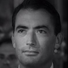 Gregory Peck -- I think he was just the most wonderful actor; and just simply one of the most handsome faces.