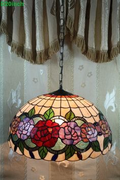 Rose Tiffany Lamp  20S0-53P11