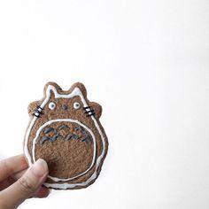 Lazy Sunday ⠀ ⠀ ⠀ #totoro #cookies