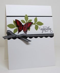 With Sympathy by mamamostamps - Cards and Paper Crafts at Splitcoaststampers