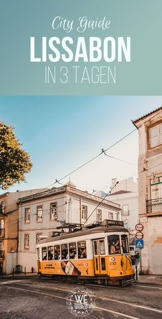 Lisbon in 3 Days - The Ultimate City Guide with 30 great sights that everyone should visit - Europa Reiseziele - Travel Europe Destinations, Europe Travel Tips, Us Travel, Family Travel, Travel Guide, Travel Cake, Vacation Travel, Travel Images, Travel Photos