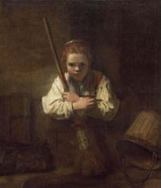 Rembrandt is one of the greatest artists of all time. He made a brushstroke abstractly — as if he were not painting forms at all. His work is very subtle. Each stroke does a lot of heavy lifting, in terms of conveying information.  #Rembrandt #Masterartist