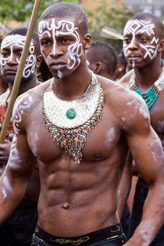 African warriors....
