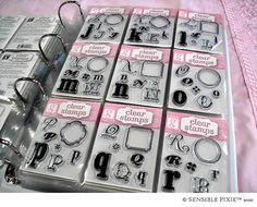 clear stamp storage 2019 clear stamp storage The post clear stamp storage 2019 appeared first on Scrapbook Diy. Scrapbook Room Organization, Craft Organisation, Scrapbook Storage, Craft Room Storage, Paper Storage, Storage Ideas, Storage Solutions, Tampon Scrapbooking, Scrapbook Paper Crafts