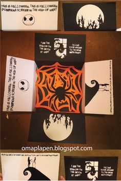 Nightmare before Christmas Halloween Care Package Lauren Evans Design Party Planning Inspiration Lauren Evans Design