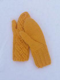 Luovat kädet: Lumo -lapaset Marimekko, Mittens, Gloves, Knitting, Diy, Accessories, Tricot, Fingerless Mitts, Bricolage