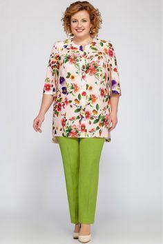 Suit trouser LaKona 1103 – Best Of Likes Share Plus Size Formal Dresses, Plus Dresses, Plus Size Outfits, Casual Dresses, Fashion Dresses, Mature Fashion, Asian Fashion, Plus Size Fashion, Kurta Designs Women