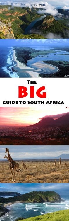 As the title says, this is a BIG Guide to South Africa.