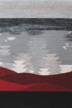 Your Daily Dose of Inspiration! Blood and Thunder, handwoven by Alex George Sullivan!